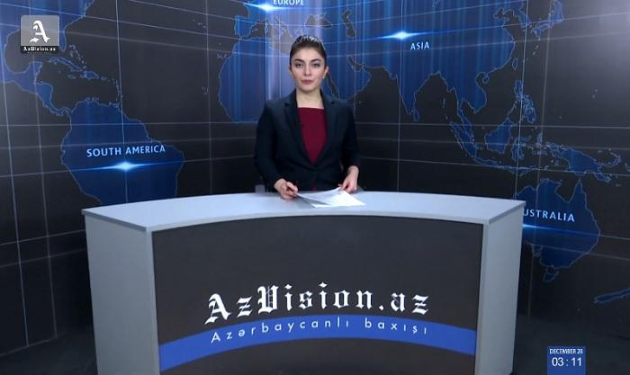 AzVision News: İngiliscə günün əsas xəbərləri (11 fevral) - VİDEO