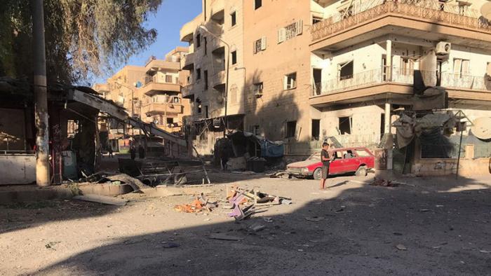 SANA  : Al menos 16 civiles mueren en Siria tras un ataque de la coalición encabezada por EE.UU.