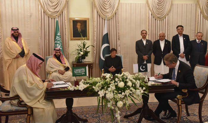 Səudiyyə ilə Pakistan 20 milyardlıq müqavilə imzaladı
