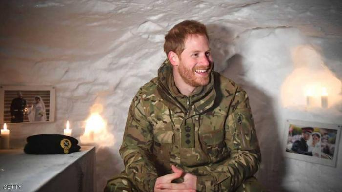 الأمير هاري يقضي عيد الحب في القطب الشمالي