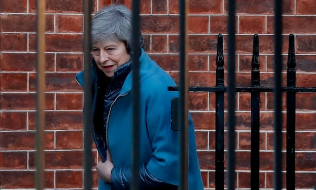Theresa May defeated on Brexit again as ERG Tories abstain