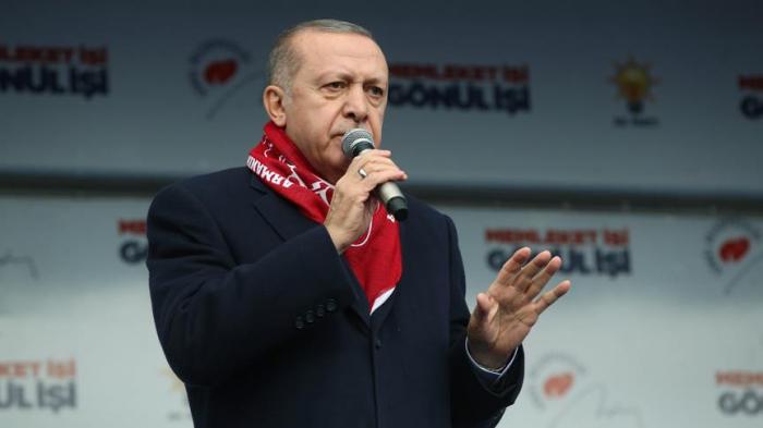 """""""Vətənimizə, bayrağımıza uzanan əlləri qırarıq"""" - Ərdoğan"""