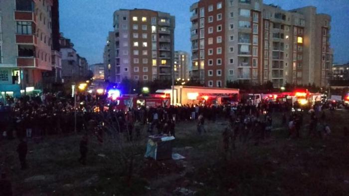 İstanbulda hərbi helikopter qəzası -