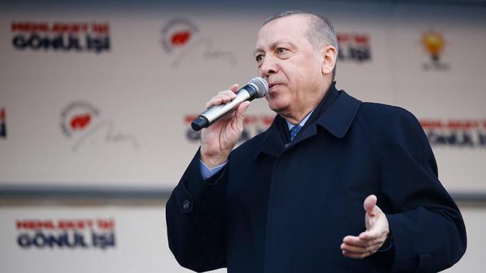 Erdogan:   Nous détruirons ce corridor du terrorisme à tout prix