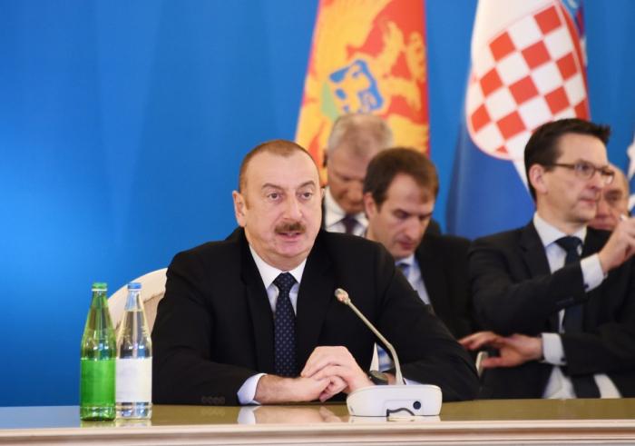 رئيس أذربيجان:  نجاح مشروع ممر الجنوب للغاز مرهون على توازن المصالح