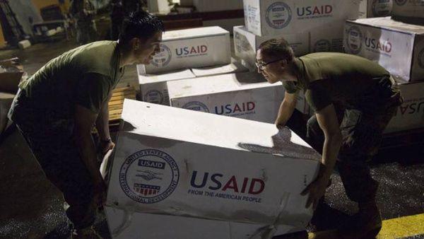"""Comida deshidrata contenida en """"ayuda humanitaria"""" de EE.UU. es nociva para la salud"""