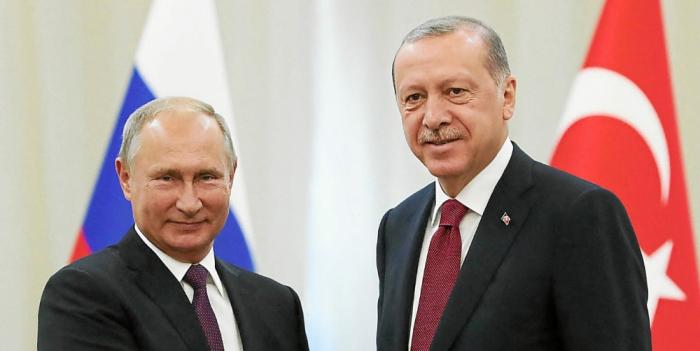 Poutine félicite Erdogan pour son anniversaire