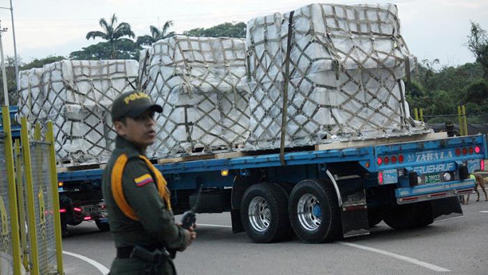 """ONU exige """"despolitizar"""" la ayuda humanitaria en Venezuela"""