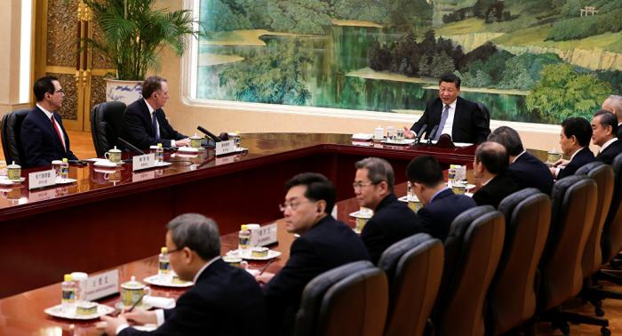 Xi Jinping destaca avances en las consultas comerciales con EEUU
