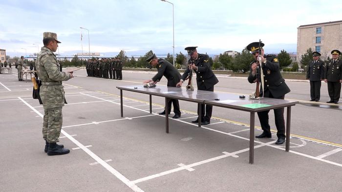 Naxçıvanda ordumuzun təlim toplantısı keçirilib - VİDEO