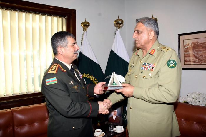Azərbaycan Pakistanla hərbi əlaqələri genişləndirir - VİDEO