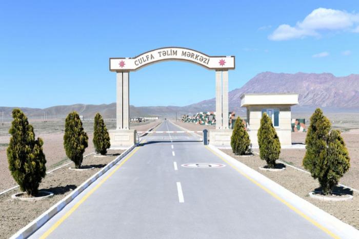 Əlahiddə Ümumqoşun Ordunun yeni mərkəzi istifadəyə verilib - FOTOLAR