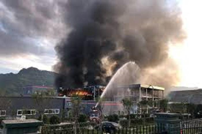 Çində zavodda partlayış olub: 6 ölü, 30 yaralı