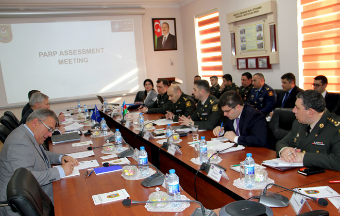 Bakıda NATO-nun ekspertlər qrupu ilə işçi görüşü keçirilib