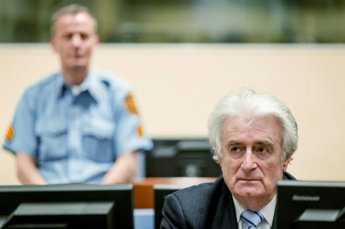 Génocide en Bosnie:  prison à vie pour Radovan Karadzic