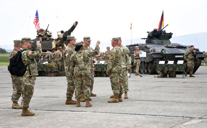 Los ejercicios de la OTAN con participación de Azerbaiyán en Georgia