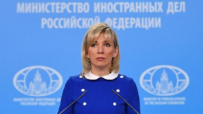 Zakharova:  «Le format des négociations ne peut être modifié qu