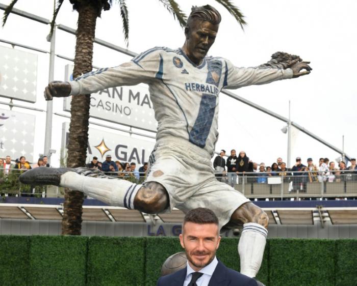 Galaxy honour David Beckham on MLS opening day