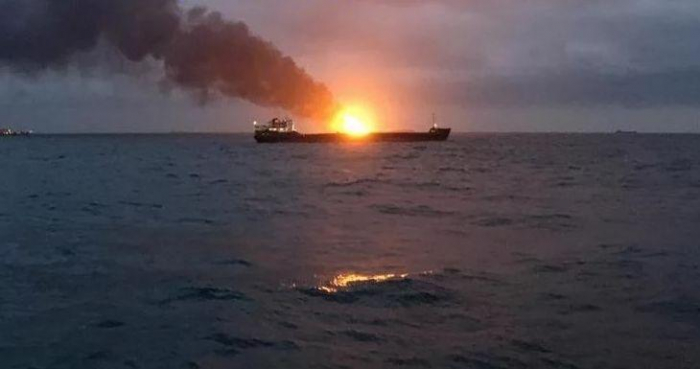 Fire stops on tanker in Black Sea after almost 1,5 months