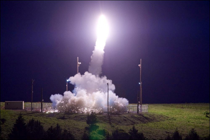 U.S. says deployed THAAD missile defense system to Israel