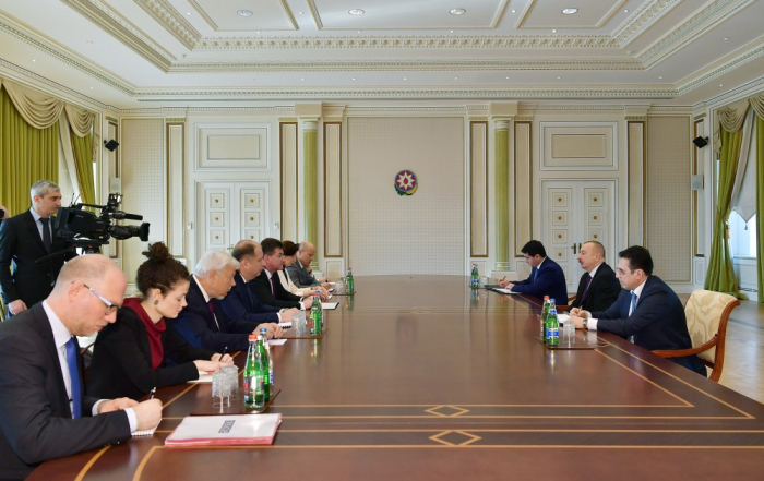 President Ilham Aliyev receives OSCE Chairperson-in-Office