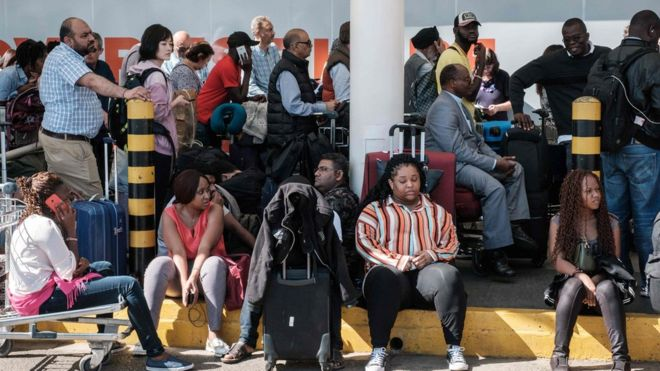 Kenya airport strike strands thousands of passengers