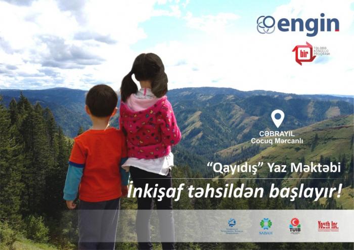 """Cocuq Mərcanlıda """"Qayıdış"""" yaz məktəbi keçiriləcək"""