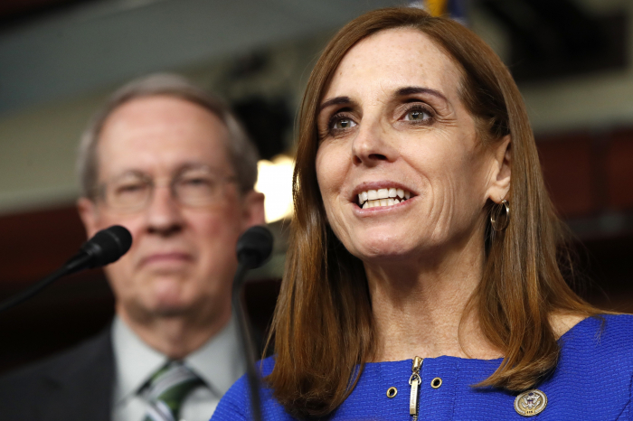 Sen. Martha McSally says she was raped by a superior officer during Air Force service