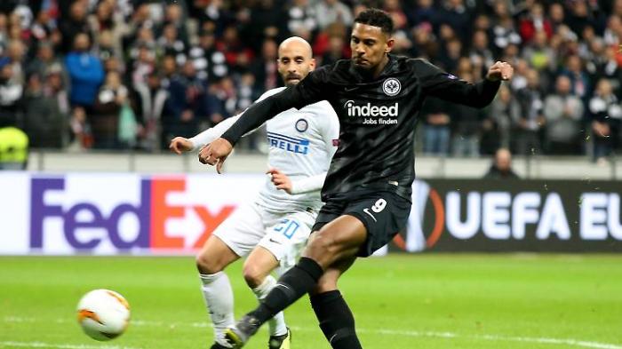 Frankfurt mit Ladehemmung gegen Inter