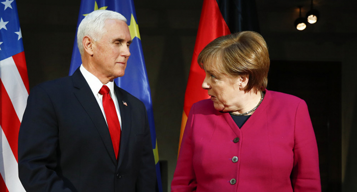 Merkel rechaza participar en una provocación de EEUU contra Rusia