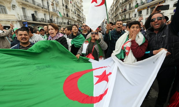 Algeria protests grow against fifth term for president
