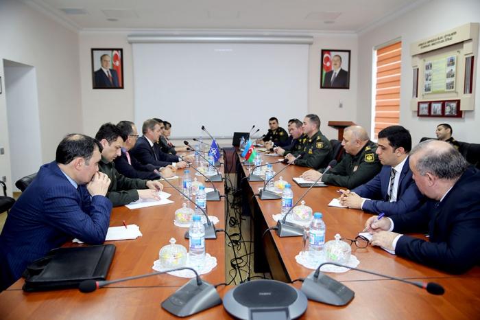 Verteidigungsministerium:  Beitritt Aserbaidschans zum NATO-Kodifikationssystem diskutiert