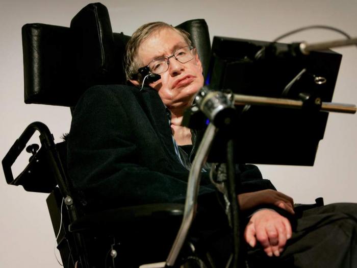 Stephen Hawking nurse facing