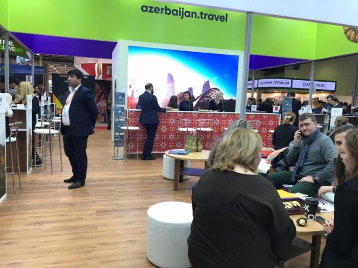 """Aserbaidschanische Unternehmen nehmen an Reisemesse """"MITT 2019"""" in Moskau teil"""