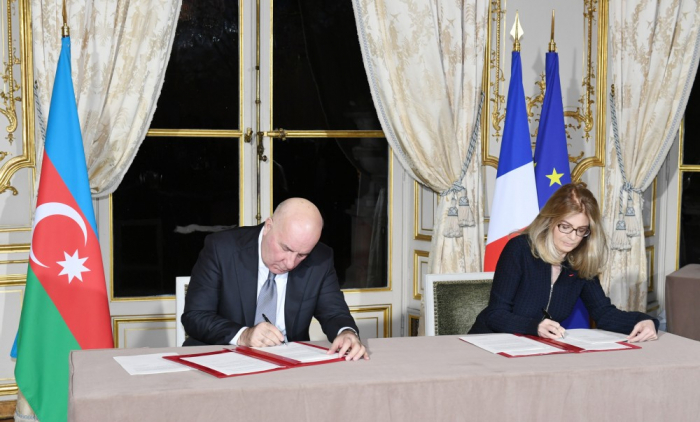 Baş bankirin Fransada imzaladığı sazişin detalları
