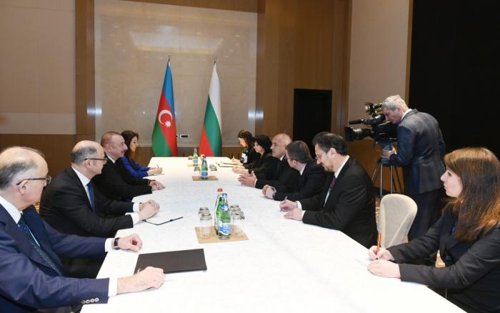 Prezident Bolqarıstanın Baş naziri ilə görüşüb - Yenilənib