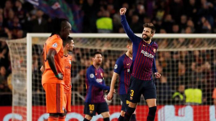Barcelona zieht ins CL-Viertelfinale ein