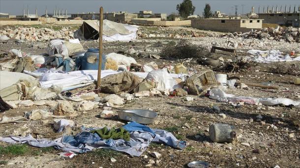 Tote bei Luftangriff auf Flüchtlingslager in Syrien