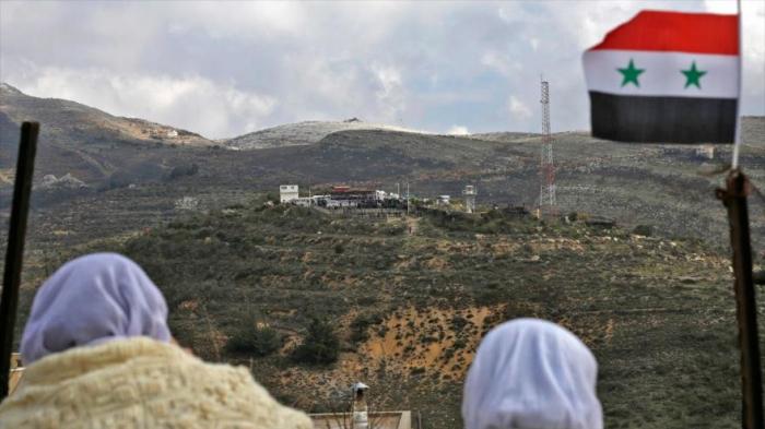 """EEUU deja de llamar """"territorio ocupado"""" a los altos del Golán"""