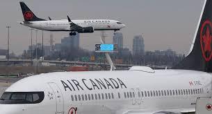 El último de los Boeing 737 MAX 8 aterriza en Canadá
