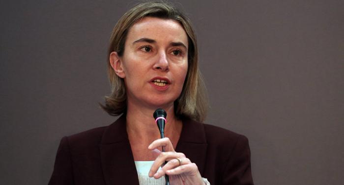 Mogherini exhorta a mantener a Siria en el tope de la agenda internacional