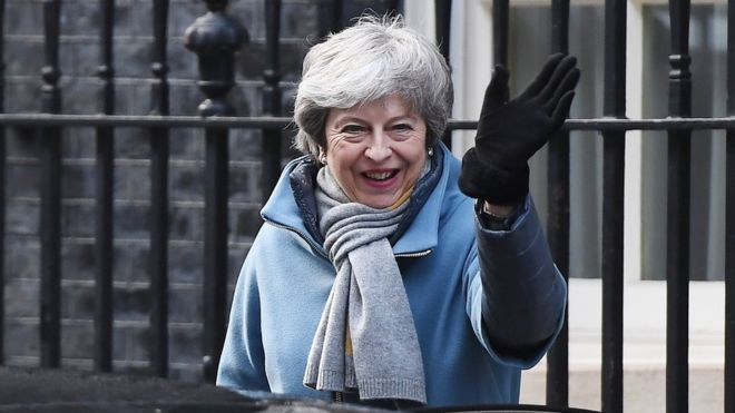 Brexit: May to try to persuade MPs for third time to back deal