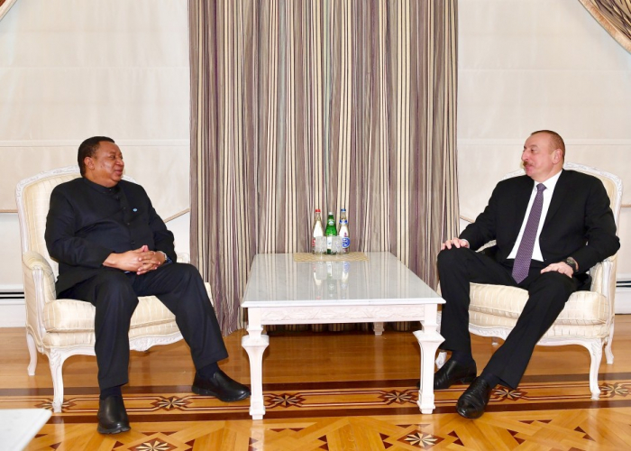 Präsident Ilham Aliyev empfängt Opec-Generalsekretär