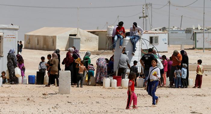 Más de 1.100 refugiados regresan a Siria en un día