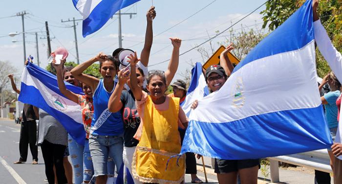 Gobierno de Nicaragua libera a opositores detenidos en marcha no autorizada