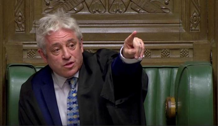 Parlamentspräsident zeigt Hürden für weitere Abstimmung über Brexit-Vertrag auf