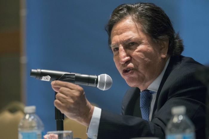 Ex-Peru president arrested in California for drunkenness