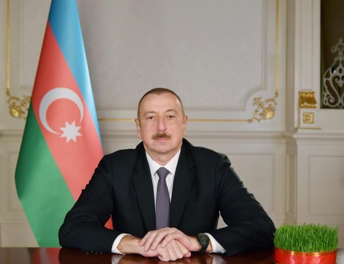 Prezidentdən Azərbaycan xalqına təbrik