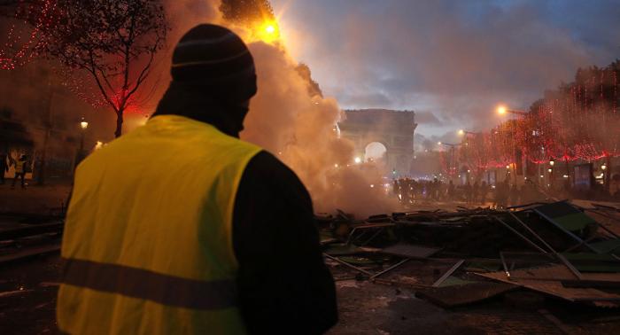 """""""Gelbwesten"""":   Massenfestnahmen bei nächstem Protest möglich – Innenministerium"""