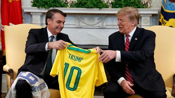 Die zwei Trumps mögen sich